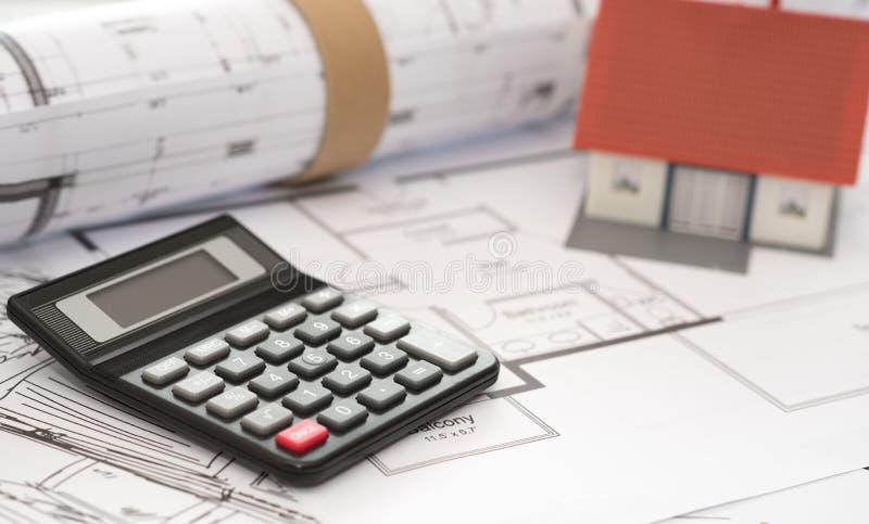 建筑项目概念 库存照片