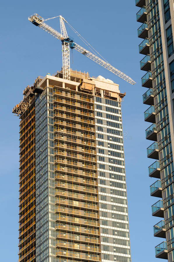 建筑高层 免版税图库摄影