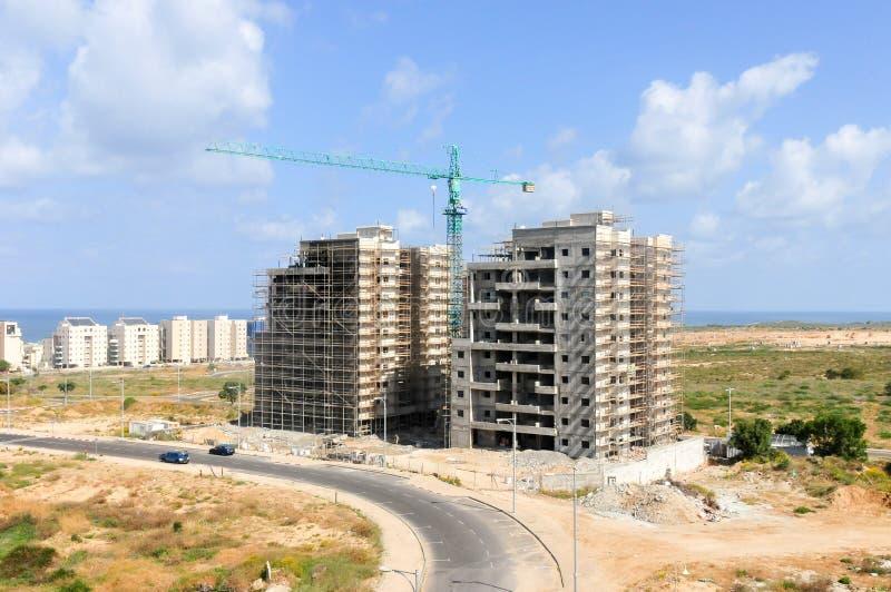 建筑-亚实基伦,以色列 图库摄影