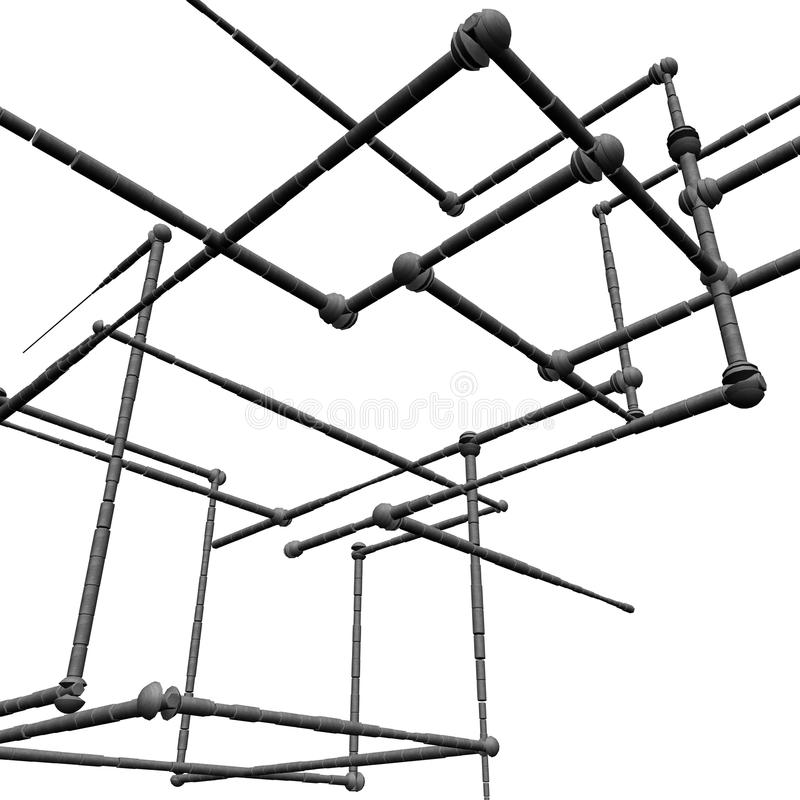 建筑 库存例证