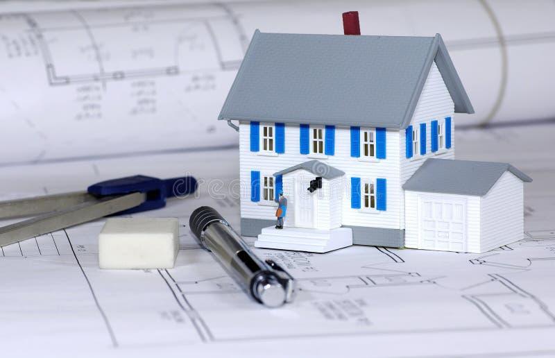 建造者家 免版税库存图片