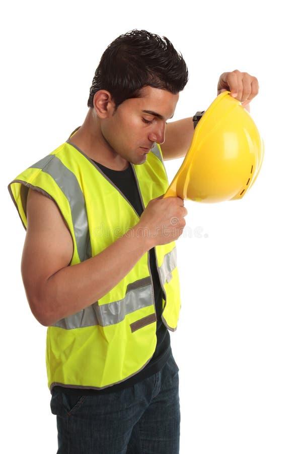 建造者建筑工人 免版税图库摄影