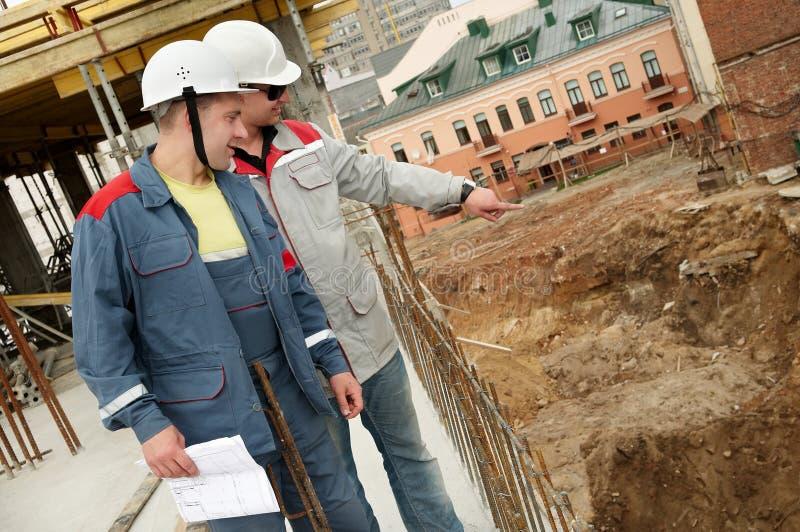 建造者建筑工程师 库存图片