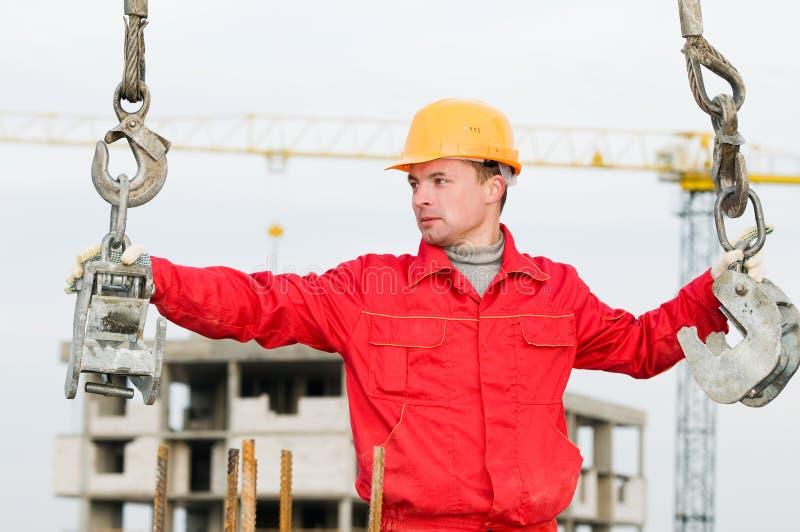 建造者装配工人皮带 免版税库存照片