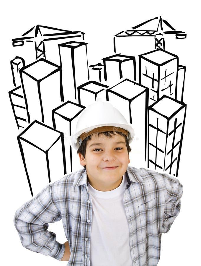 建造者远期 库存图片