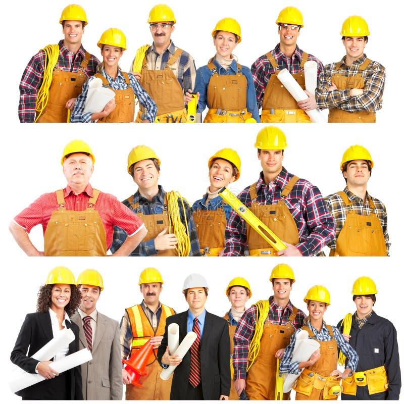 建造者 库存照片