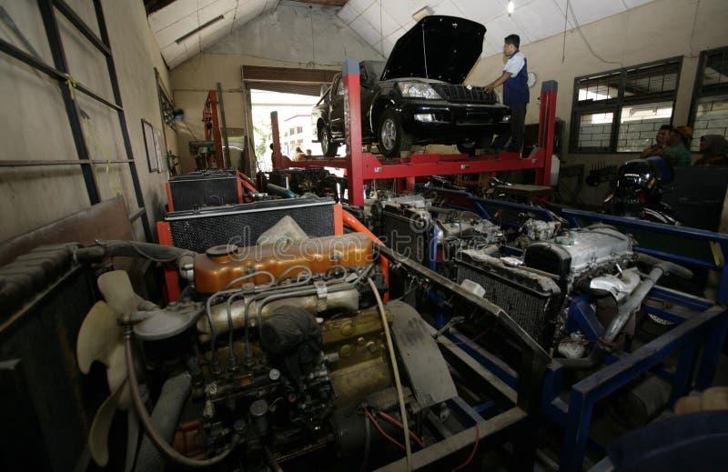 开始大量生产的印度尼西亚ESEMKA汽车 库存图片