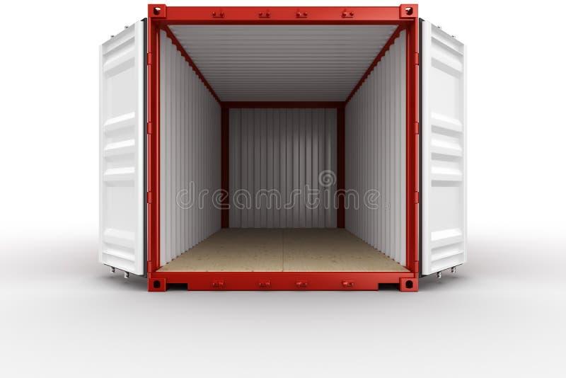 开张发运集装箱 皇族释放例证