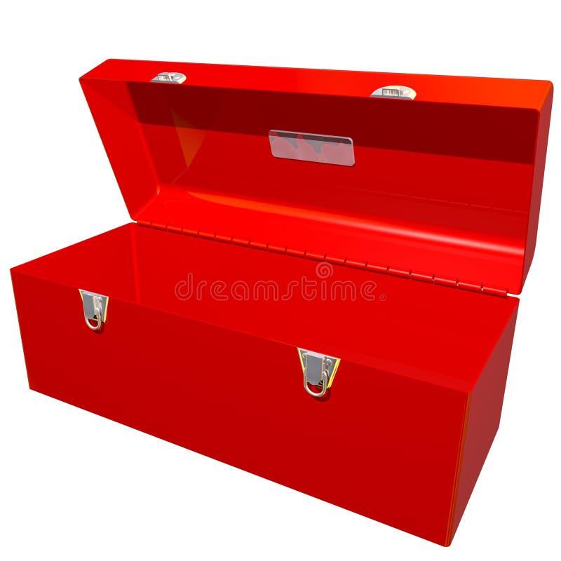 开张工具箱 皇族释放例证