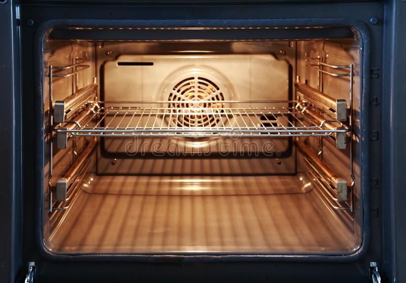 开张烤箱 图库摄影