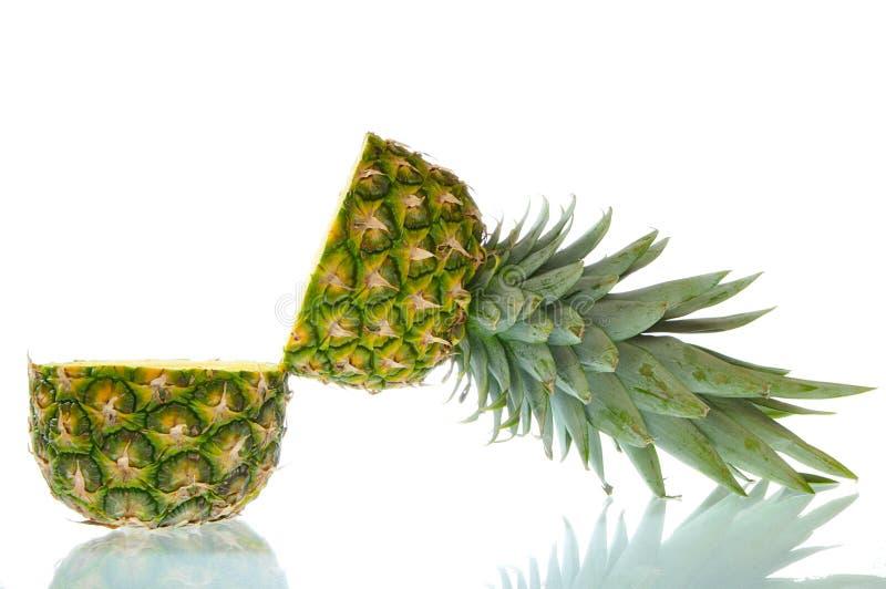 开张菠萝 库存照片