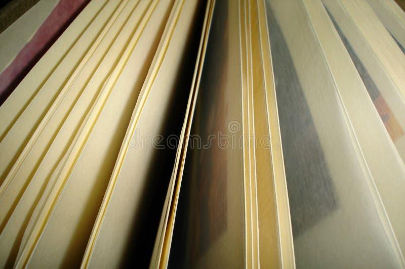 开放的书 图库摄影