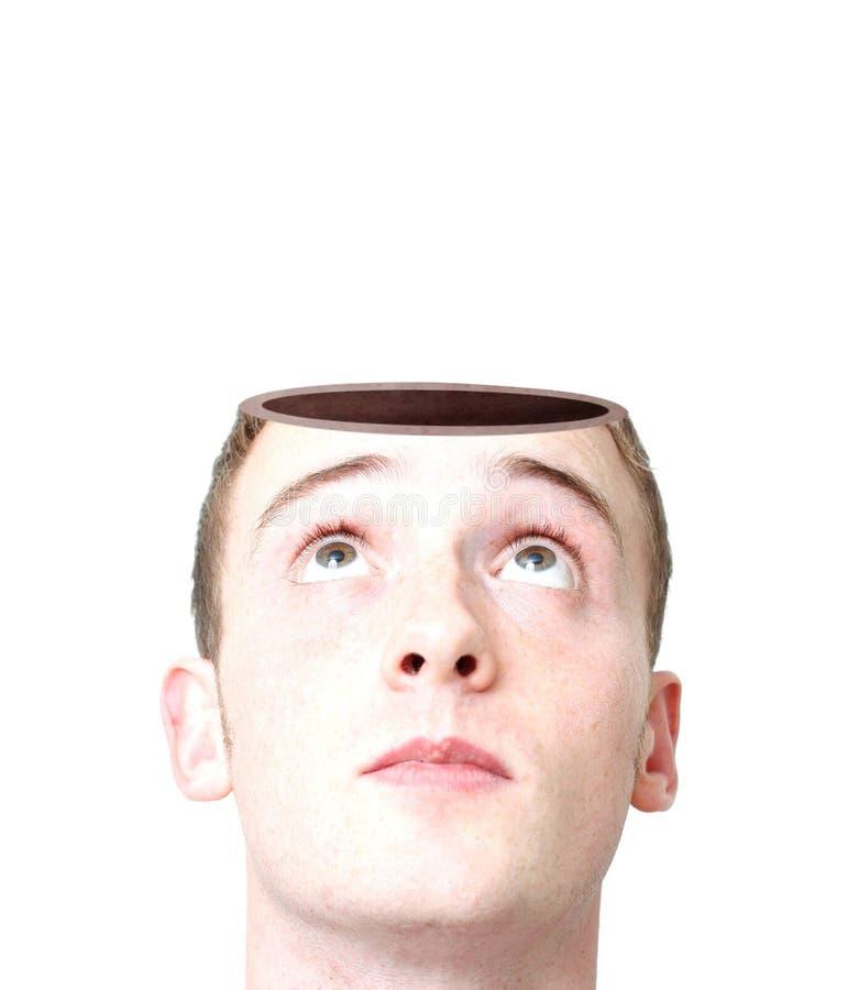 开放的头脑 库存图片