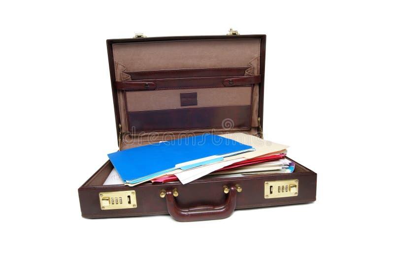 开放的案件 免版税库存图片