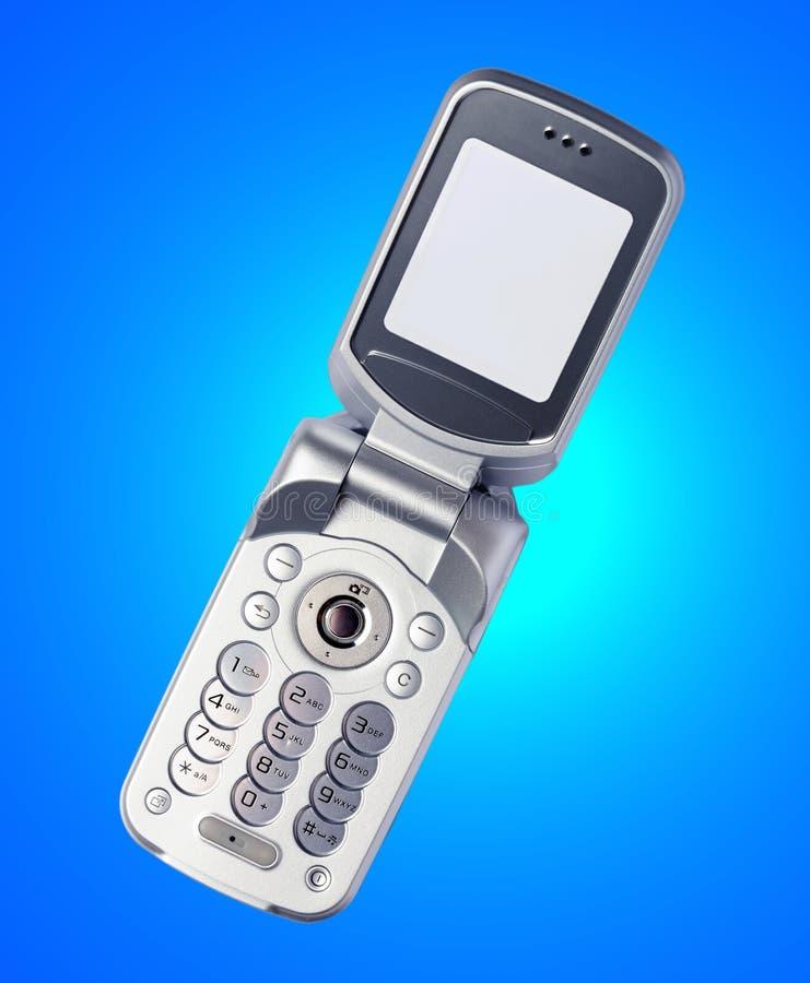 开放的移动电话 免版税库存照片