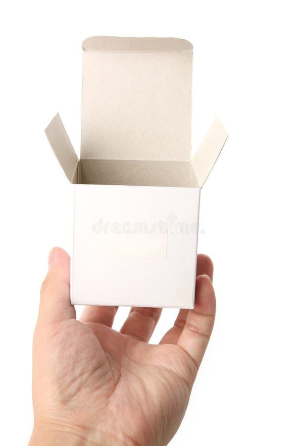 开放的配件箱 免版税库存图片