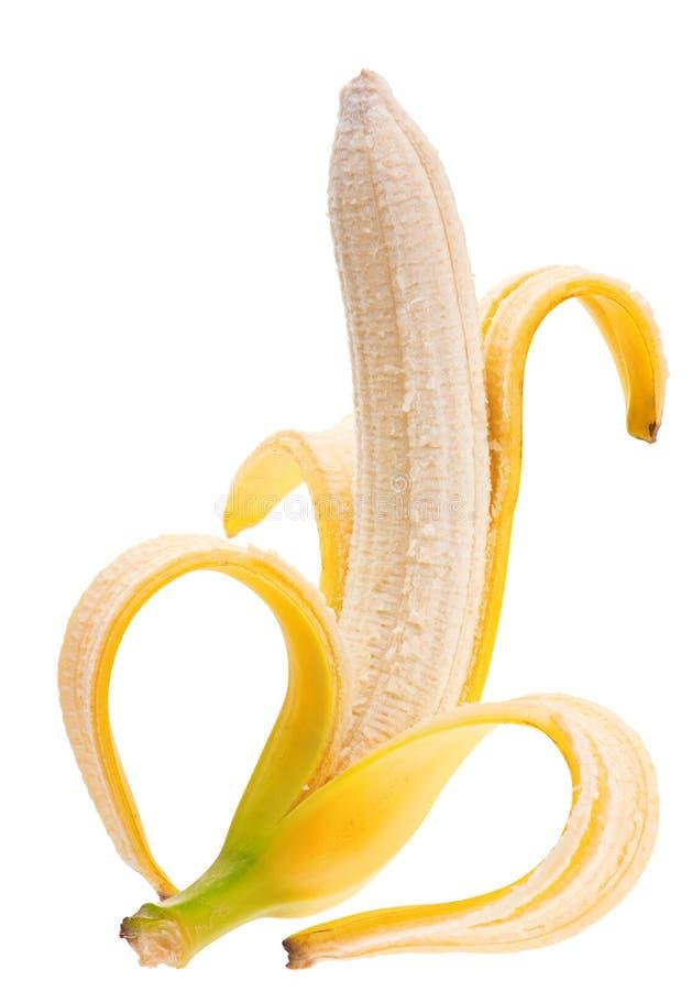 开放的香蕉 免版税库存图片