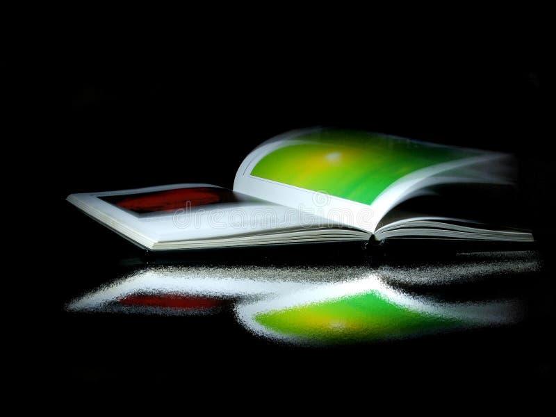 开放1本的书 免版税库存照片