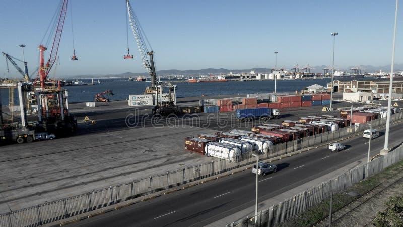 开普敦交换的海洋船 免版税图库摄影