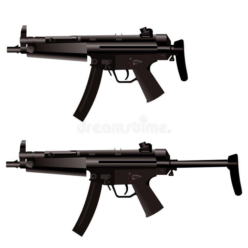 开枪设备 皇族释放例证