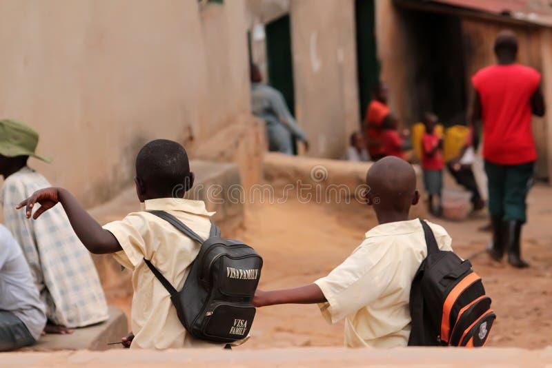 开玩笑卢旺达 图库摄影