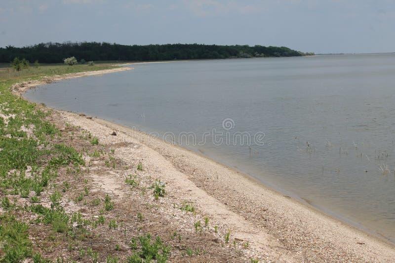 离开的海滨 图库摄影