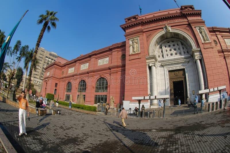 开罗埃及人博物馆 免版税图库摄影