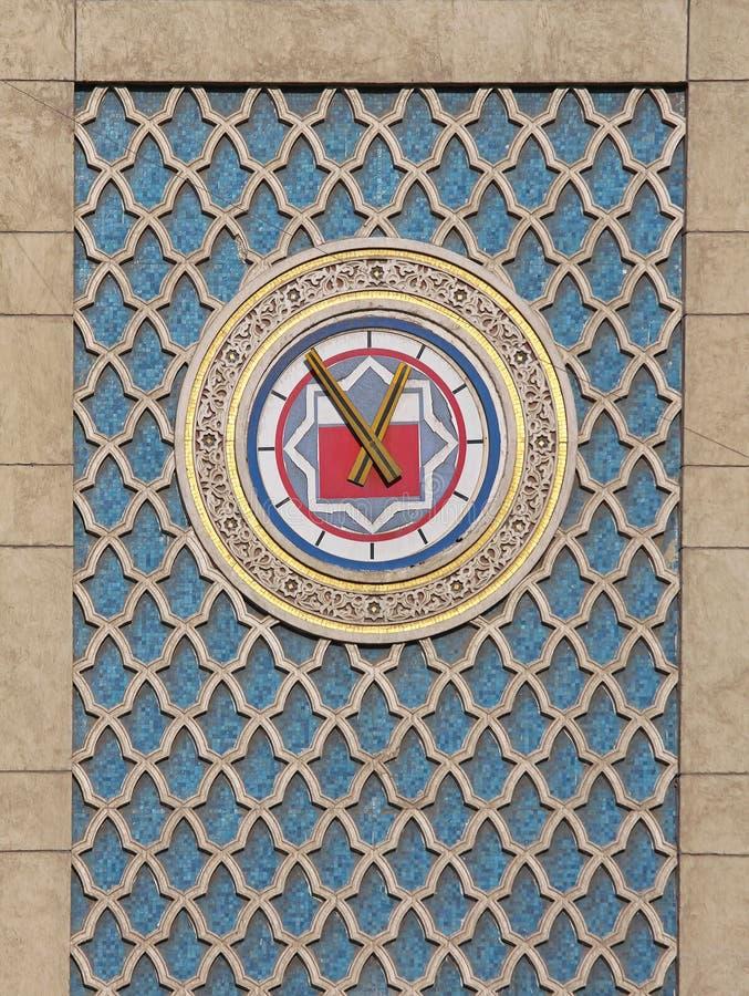 开罗时钟 库存照片