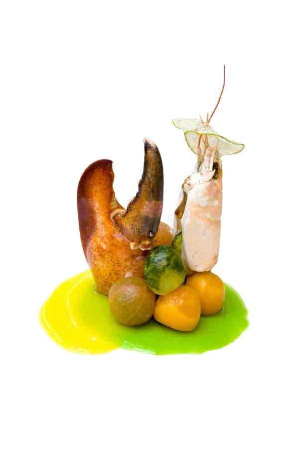 开胃菜海鲜 库存照片