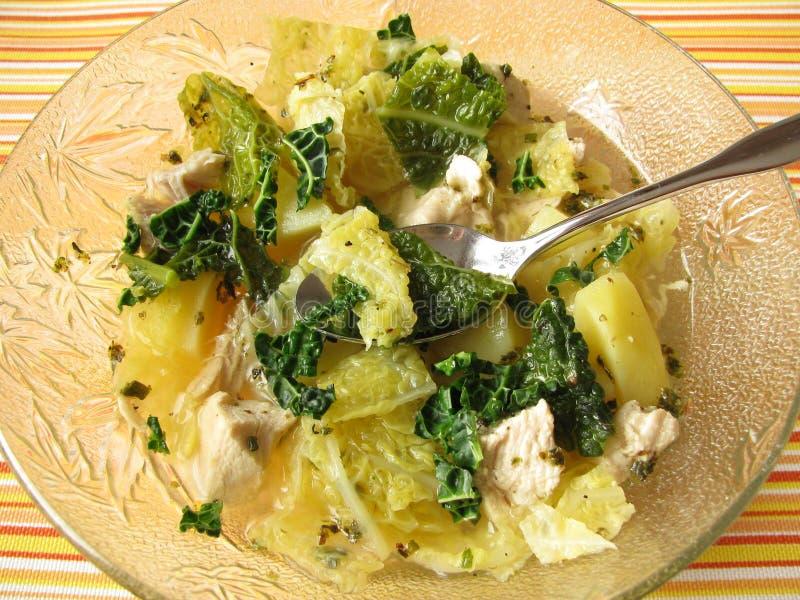 开胃菜炖煮的食物 免版税库存图片