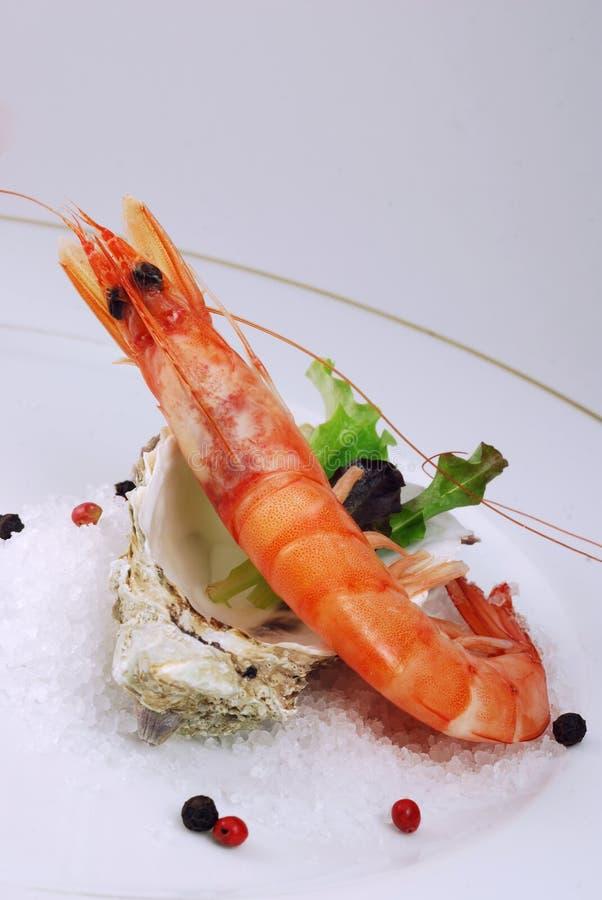 开胃菜虾 免版税库存照片