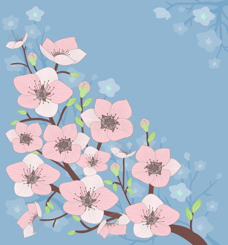 Download 开花的树 向量例证. 插画 包括有 艺术, 逗人喜爱, 图象, 本质, 欢乐, 背包徒步旅行者, 叶子, 装饰 - 30334417