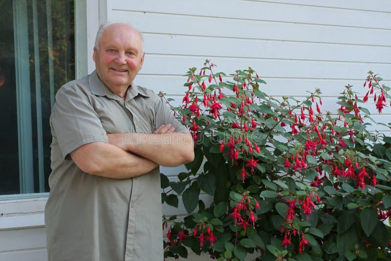 开花种植者 免版税库存照片