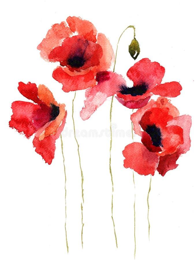 开花被传统化的例证鸦片 皇族释放例证