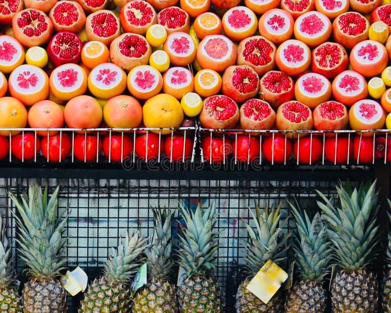 异乎寻常的果子 免版税库存照片
