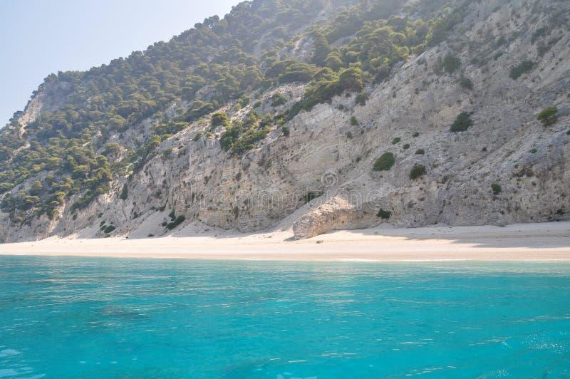 异乎寻常的海岛 库存图片