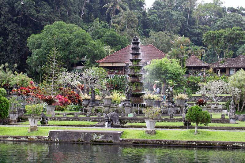 异乎寻常的Parc在巴厘岛 图库摄影