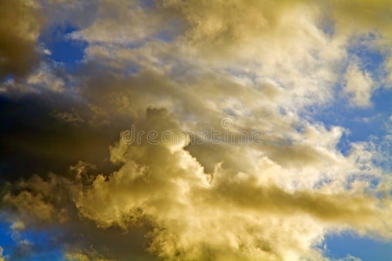 异常的云彩和天空 图库摄影