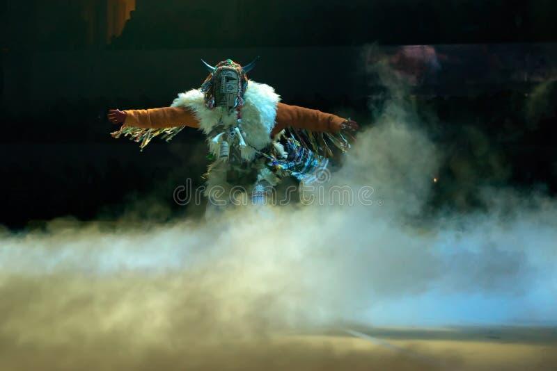 异教妖怪体育阿列克谢涅莫夫的展示传奇  免版税库存图片