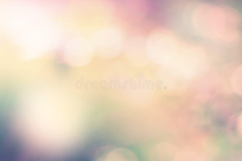 弄脏与透镜火光作用的五颜六色的图象背景 免版税库存照片