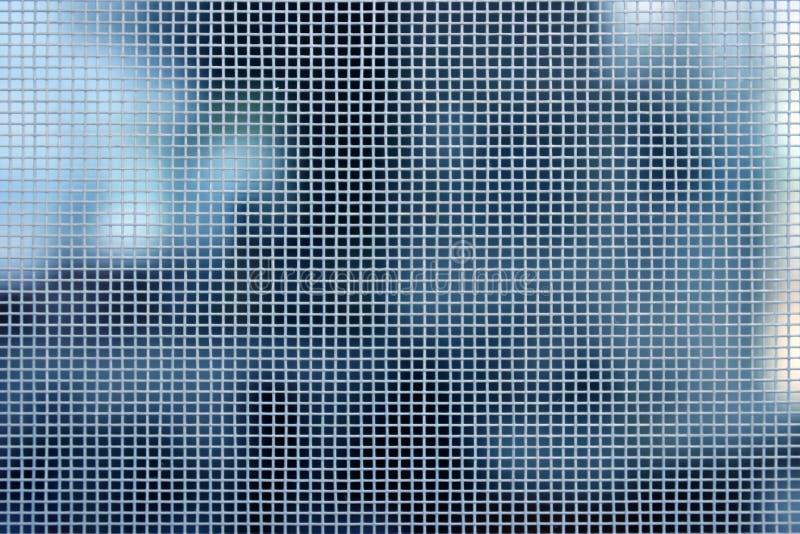 弄脏滤网白色 免版税图库摄影