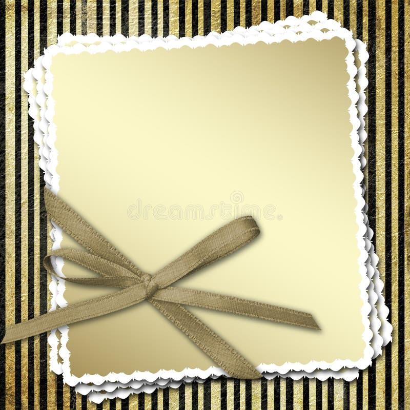 弓庆祝的结构 向量例证