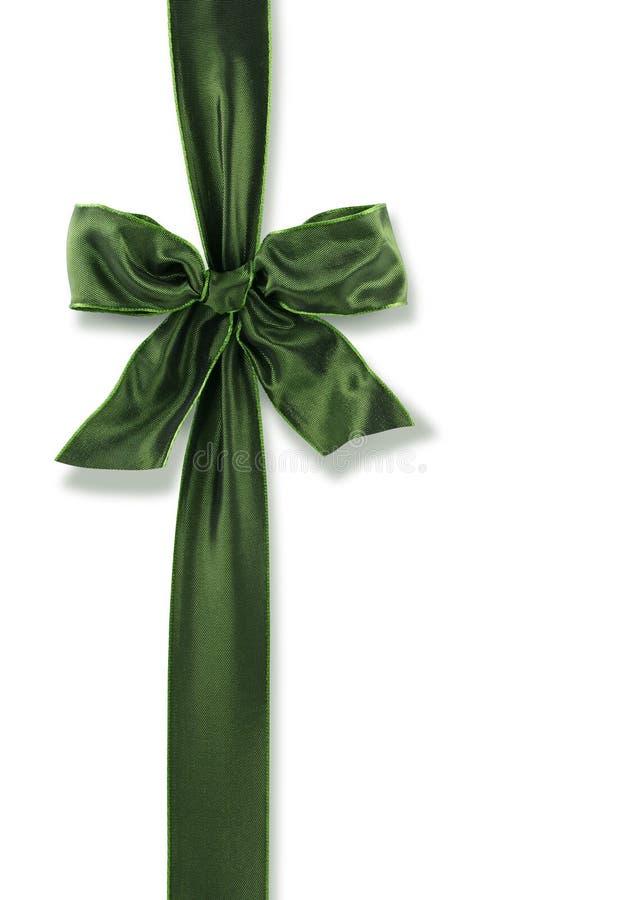 弓绿色 库存图片
