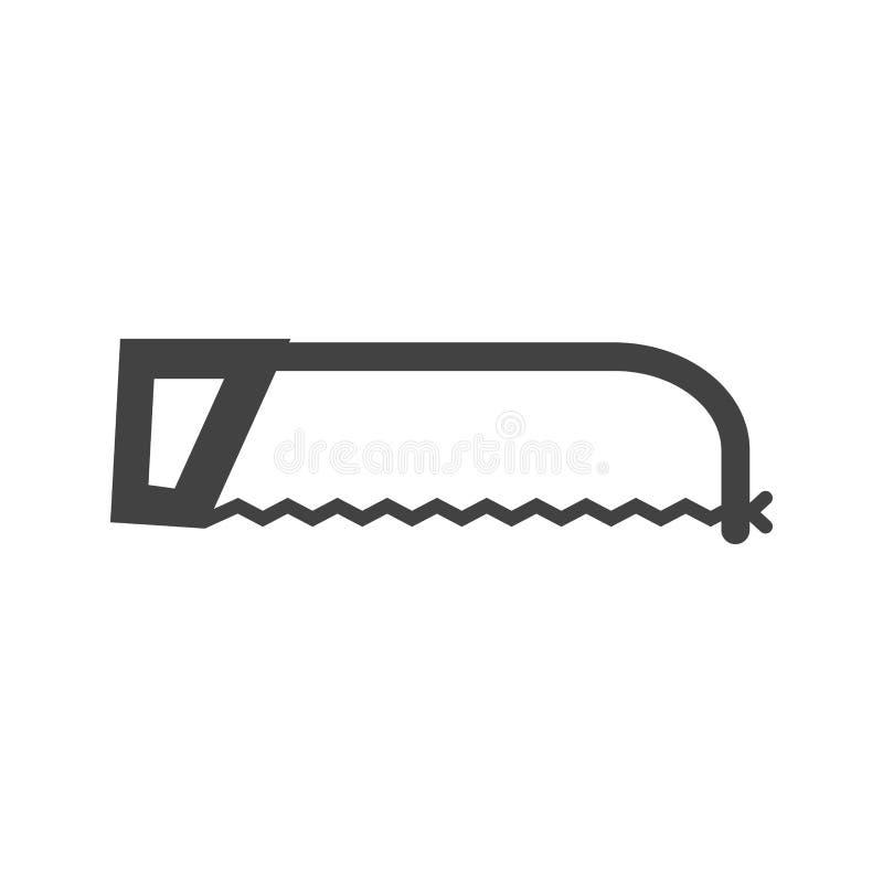 引形钢锯 向量例证