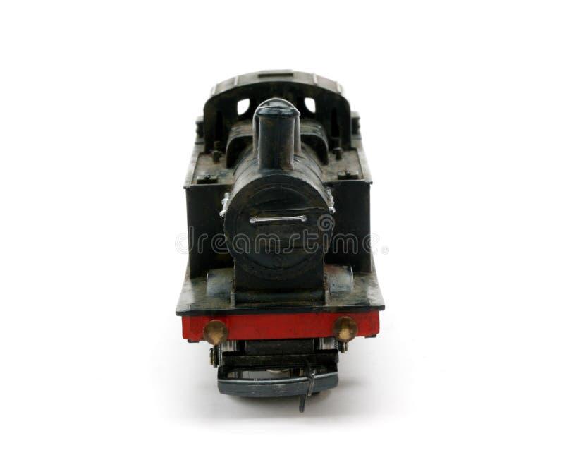 引擎前模型调车员蒸汽 库存图片