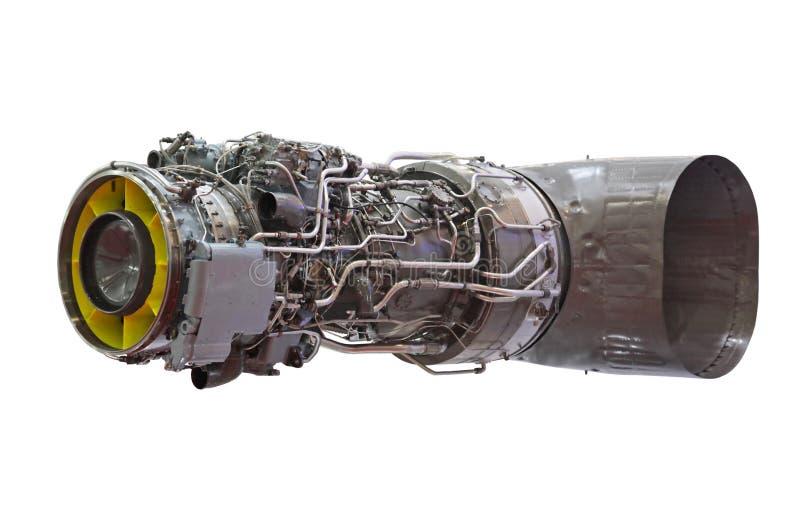 引擎喷气机涡轮 免版税库存照片