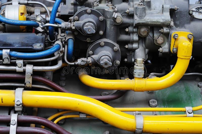 引擎喷管阀门 图库摄影