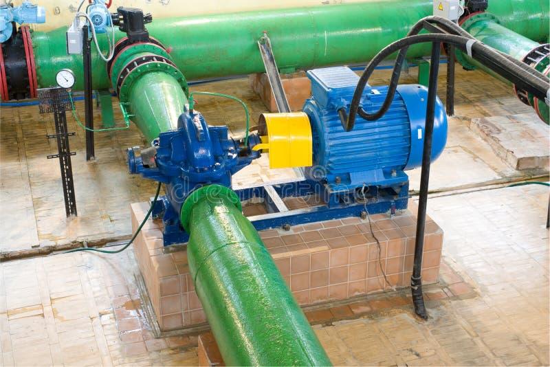 引擎泵 库存照片