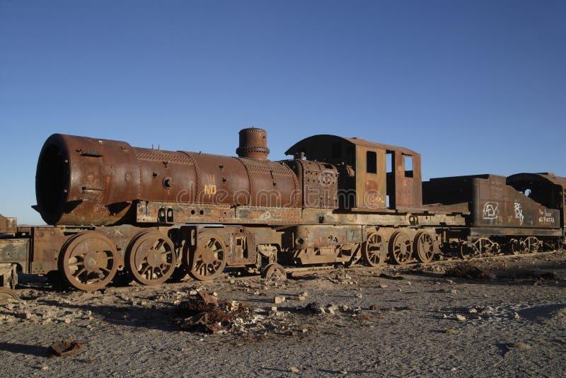 引擎生锈的蒸汽 免版税图库摄影