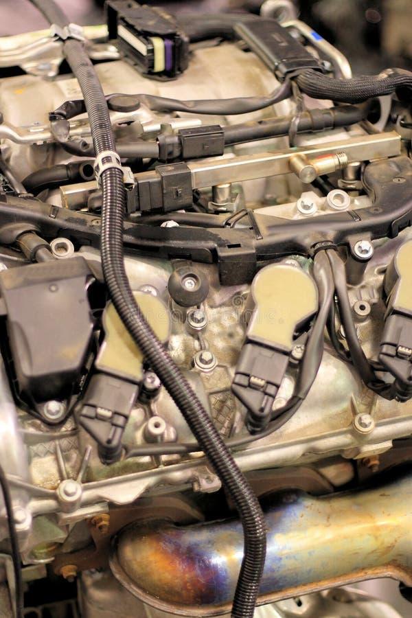 引擎维修服务 免版税库存照片